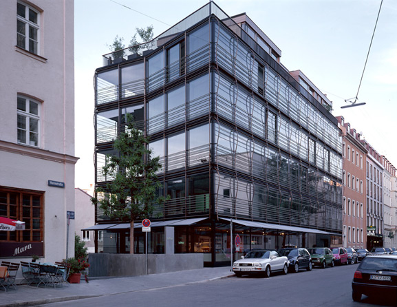 142 Herrnstrasse Commercial And Apartment Building
